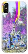 Rusty Metal Stuff Vi IPhone Case
