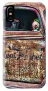 Rusty Truck Door IPhone Case