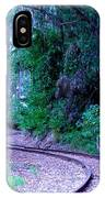 S Curve In The Forest IPhone Case