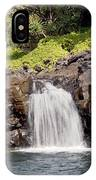 Sacred Pool Waterfall IPhone Case