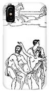 Sacrifice Of Iphigenia IPhone Case