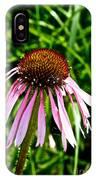 Sad Cone Flower IPhone Case