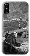 Sadler: Fishing, 1875 IPhone Case