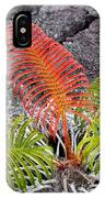 Sadleria Fern Hawaii IPhone Case