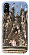 Sagrada Familia Church - Barcelona Spain IPhone Case