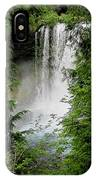 Sahalie Falls IPhone Case