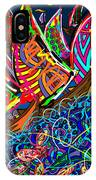 Sailing The Deep Blue IPhone Case