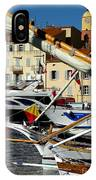 Saint Tropez Harbor IPhone Case