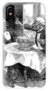 Samuel Clemens Cartoon IPhone Case