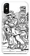 Samuel L. Clemens Cartoon IPhone Case