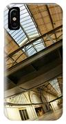 San Francisco Ferry Building Walkway IPhone Case