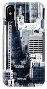 San Francisco Skyline-grunge IPhone Case