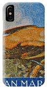 San Marino 1 Lire Stamp IPhone Case