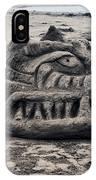 Sand Dragon Sculputure IPhone Case