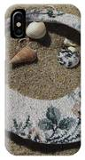 Sand On A Half Shell IPhone Case