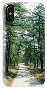 Sand Road Through The Pine Barrens, New IPhone Case