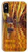Sandpiper Wading For Food, Yukon IPhone Case