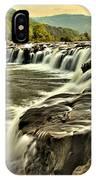 Sandstone Falls At Dusk IPhone Case