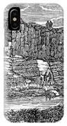Sandstone Quarry, 1840 IPhone Case