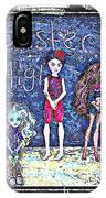 Sarah's Monster High Collection Sketch IPhone Case