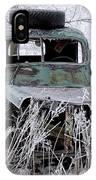 Saranac Cities Service Truck IPhone Case