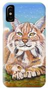 Sassy Lynx IPhone Case