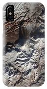 Satellite Image Of Russias Kizimen IPhone Case
