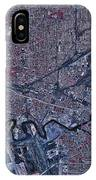 Satellite View Of Buffalo, New York IPhone Case