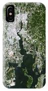 Satellite View Of The Pawtucket IPhone Case