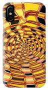 Satin Ribbons Abstract IPhone Case