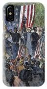 Sc: Emancipation, 1863 IPhone Case