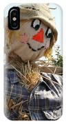 Scarecrow Farmer IPhone Case