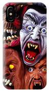 Scary Halloween Masks IPhone Case