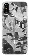Scenes From The Tale Of Genji IPhone Case