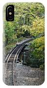 Scenic Railway Tracks IPhone Case