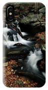 Scenic View Of A Waterfall On Smith IPhone Case