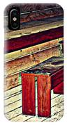 School House Benched And Dusted IPhone Case