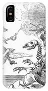 Science Vs. Mother Goose IPhone Case