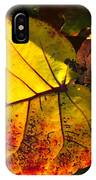 Sea Grape Leaves IPhone Case