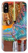 Sea Serpent Carousel Ride IPhone Case