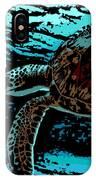 Sea Turtle Swimming IPhone Case