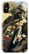 Seabees Conduct Decontamination Wash IPhone Case