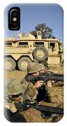 Seabees Defend Their Camp IPhone Case
