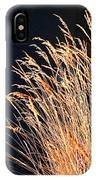 Seagrass In Gold IPhone Case