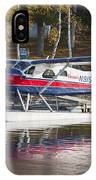 Seaplane On Moosehead Lake In Maine Canvas Photo Poster Print IPhone Case