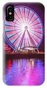 Seattle Great Wheel 2 IPhone Case