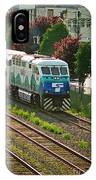 Seattle Sounder Train IPhone Case