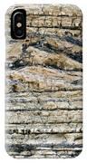 Sedimentary Rock Slumping IPhone Case