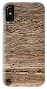 Sedimentary Structures In Sand Beds IPhone Case