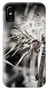 Seedy Neighborhood In Bw IPhone Case